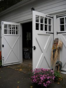 Dual Open Shed Door options