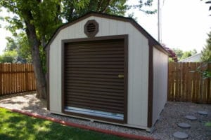 Roll Up Shed Door options