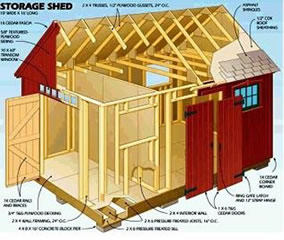 The Lawn Mower Storage Shed Sheds For Home Perfect