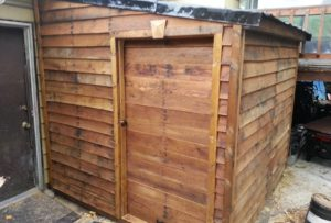 pallet shed ideas 1
