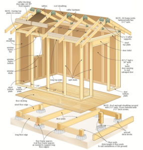 shed wall framing