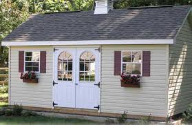 Shed window ideas with shutters