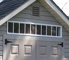 transom shed window ideas