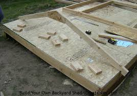 shed roof building wood jig