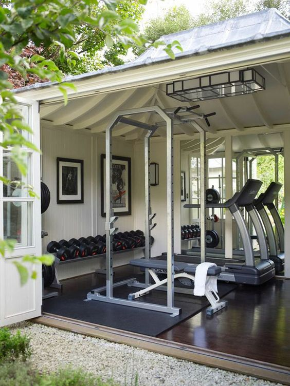 Why Build A Shed Gym? - Sheds For Home